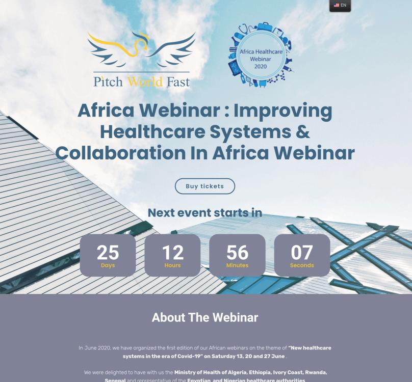 Africa Webinar portfolio