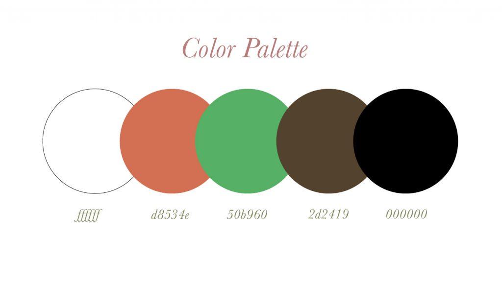4x4color palette